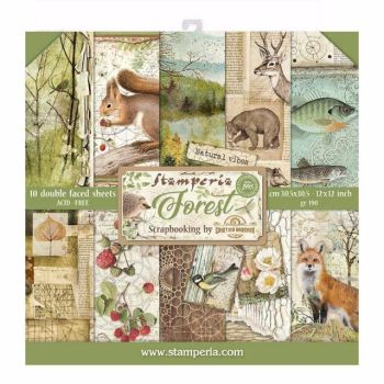 Stamperia Forest 12 x 12 paper pad