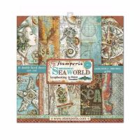 New Product : Stamperia Mechanical Sea world 8x8 paper pad