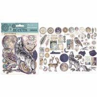 New Product : Stamperia Cosmos Die cut Assortment