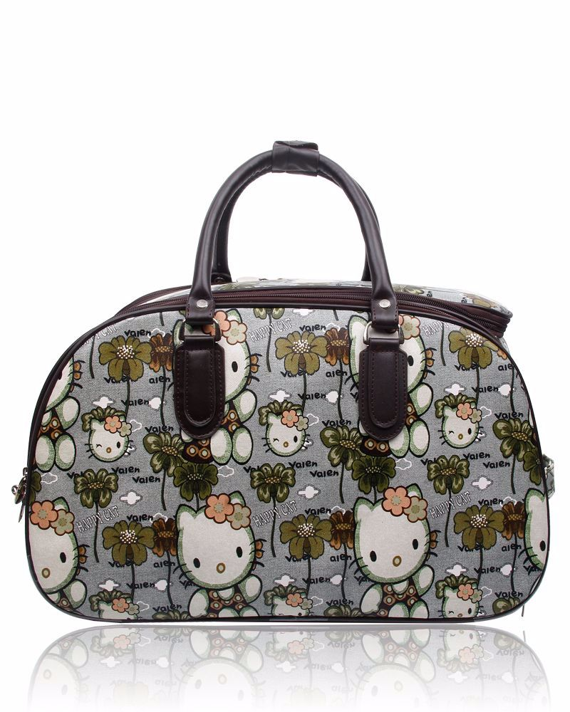 New Product : Crafters Stylish Trolley bag : Kitty Design