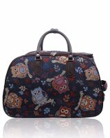 Crafters Stylish Trolley bag Owl