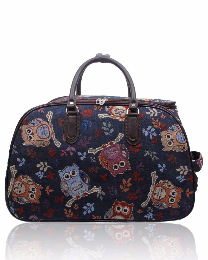 New Product : Crafters Trolley bag in the Owl pattern