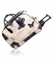Crafters Stylish Trolley bag Butterfly Cream