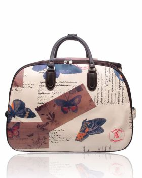Crafters Stylish Trolley bag Butterfly