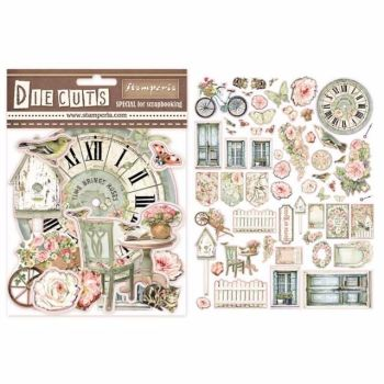 Stamperia House of Roses Die Cuts assortment