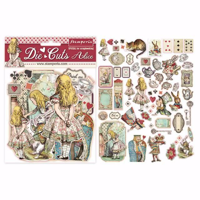 Stamperia : Alice assorted die cuts