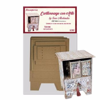 Stamperia Cartonnage Kit Secretaire