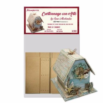 Stamperia Cartonnage Kit House of Journal