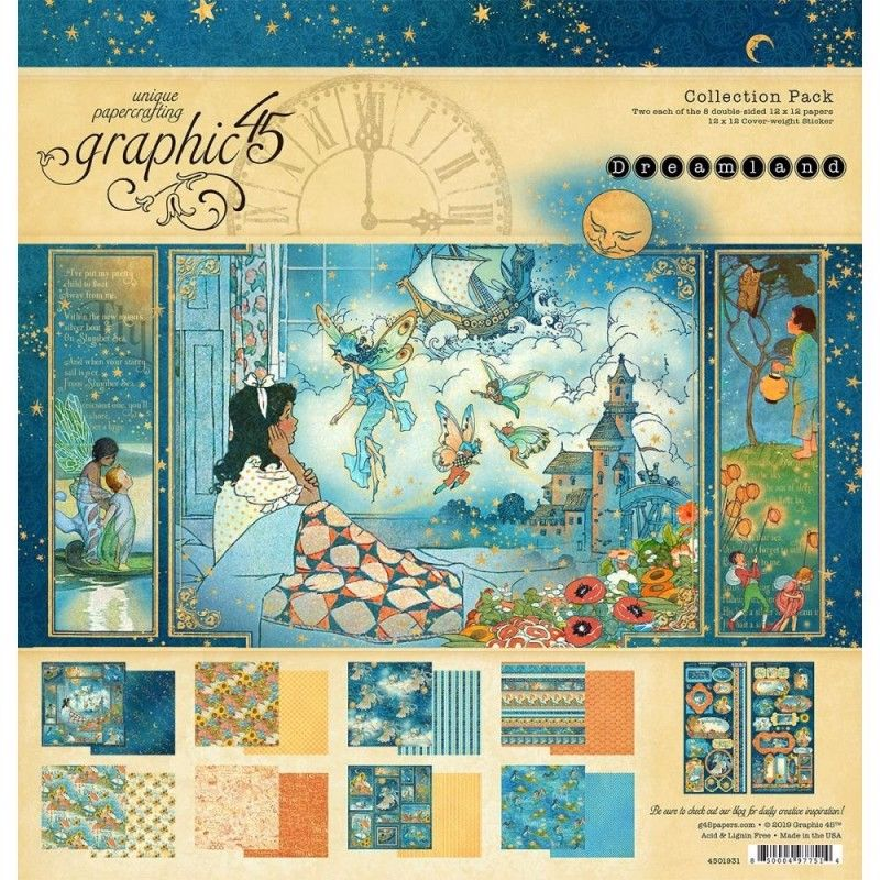 Dreamland 12 x 12 paper pad