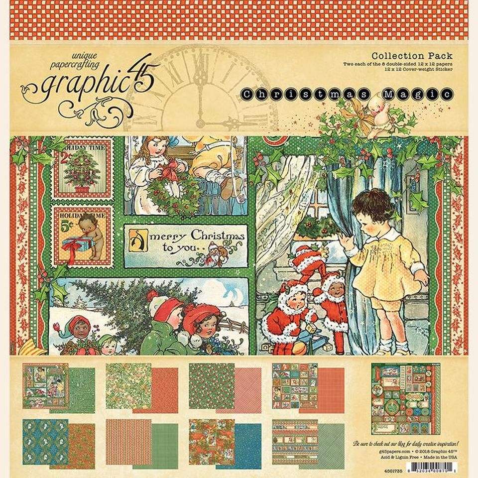 G45 Collection pack 12 x 12 : Christmas magic
