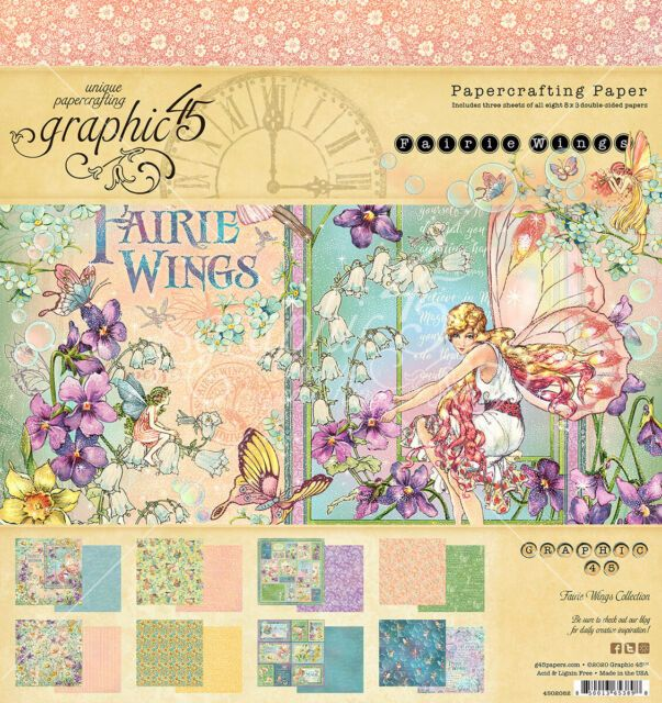 New Product : G45 Fairie Wings paper pad