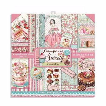 Stamperia Sweety 8x8 paper pad