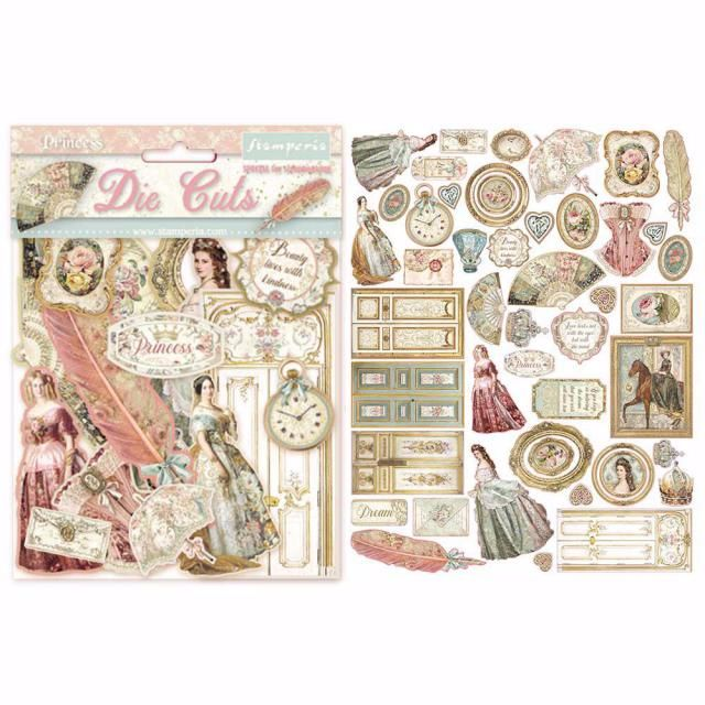 Stamperia Die cuts : PRINCESS