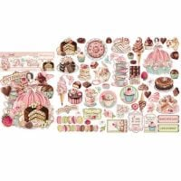 Stamperia Assorted Die Cuts Sweety