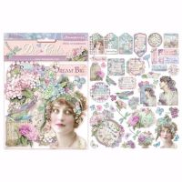 Stamperia Assorted Die Cuts Hortensia