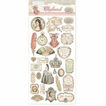 Stamperia Chipboard shapes Princess