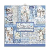 Stamperia Winter Tales 8x8 paper pad