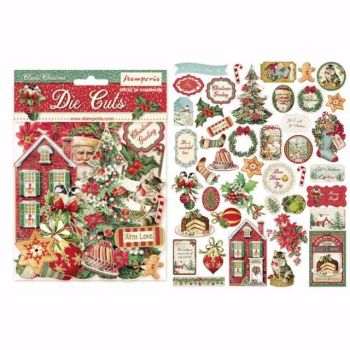 Stamperia Assorted Die Cuts Classic Christmas