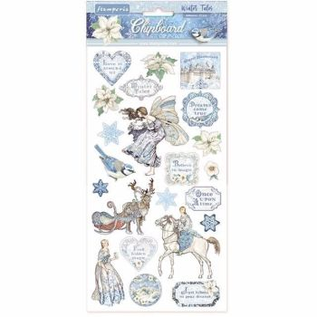 Stamperia Chipboard shapes Winter Tales
