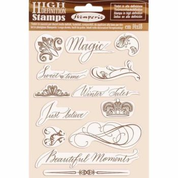 Stamperia High Definition Stamps Beautiful Moments