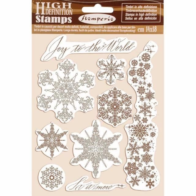 Stamperia High Definition stamps : Snowflakes