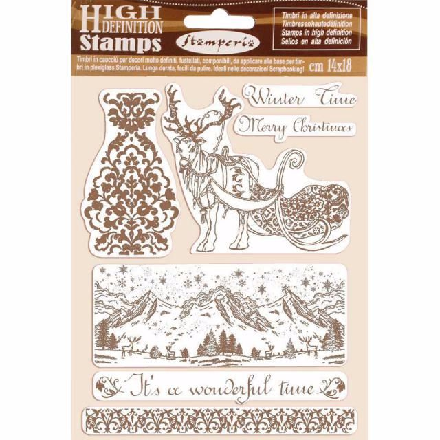 Stamperia High Definition stamps : Winter Time