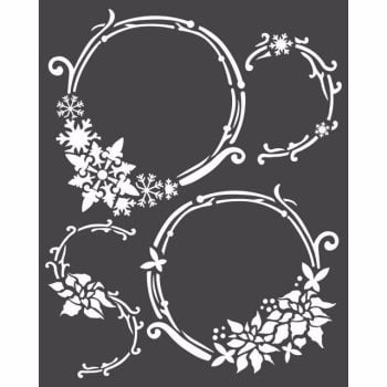 Stamperia 20x25 Stencil Garlands
