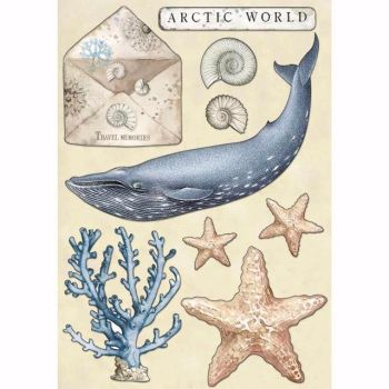 Stamperia Wooden Shapes : Arctic World