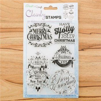 A5 Christmas Sayings stamp set