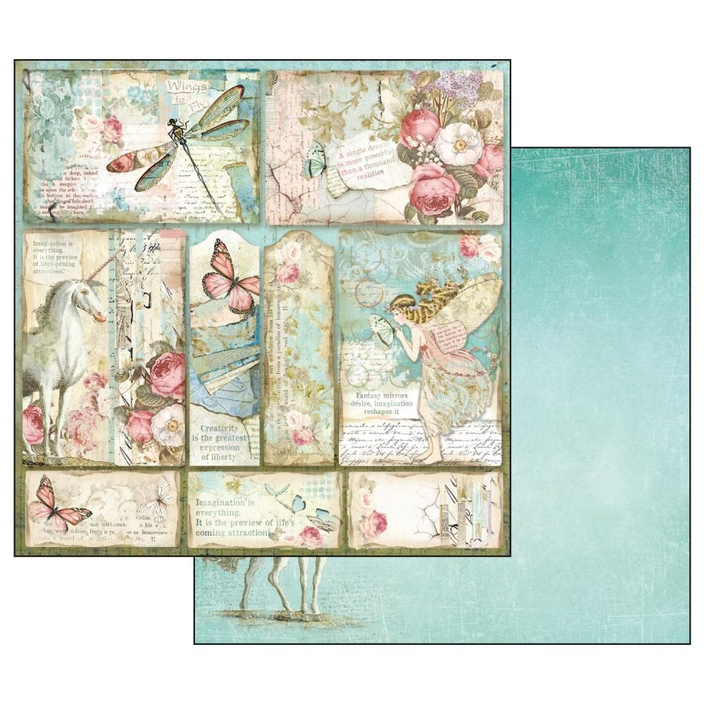 Stamperia 12 x 12 Single Paper Sheets