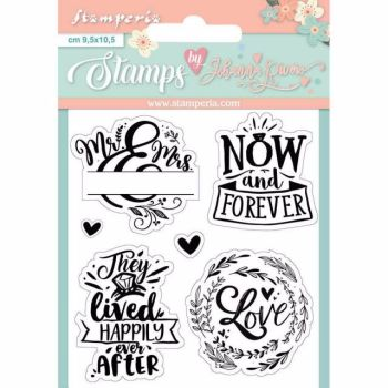 Stamperia Clear Stamp Set Now and Forever
