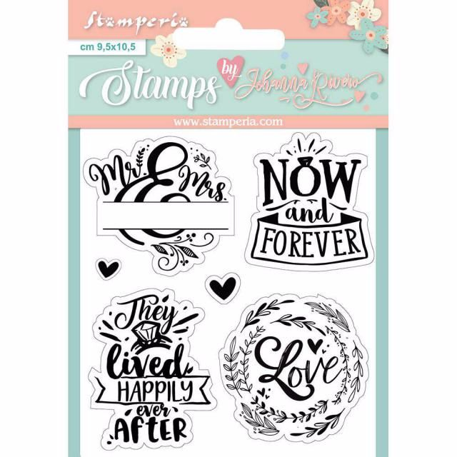 NOW AND FOREVER CLEAR STAAMP SET