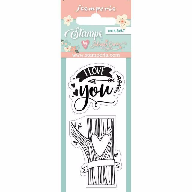 I LOVE YOU CLEAR STAMP SET