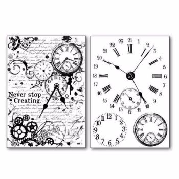 Stamperia Transfer Paper Watches