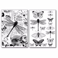 Stamperia Transfer Paper Dragonfly
