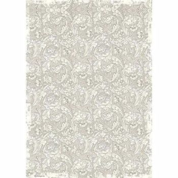 Stamperia  A3 Rice paper Packed Wallpaper