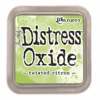 RANGER DISTRESS OXIDE INKPAD : TWISTED CITRON