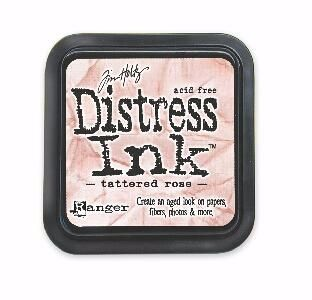 RANGER DISTRESS OXIDE INKPAD : TATTERED ROSE
