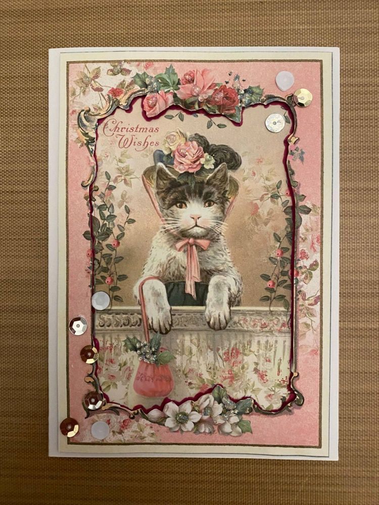 Stamperia - be Creative Craft Christmas Sample - Cat