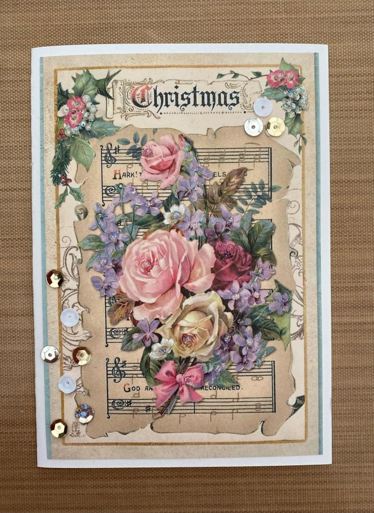 Stamperia - be Creative Craft Christmas Sample - Vintage Flower