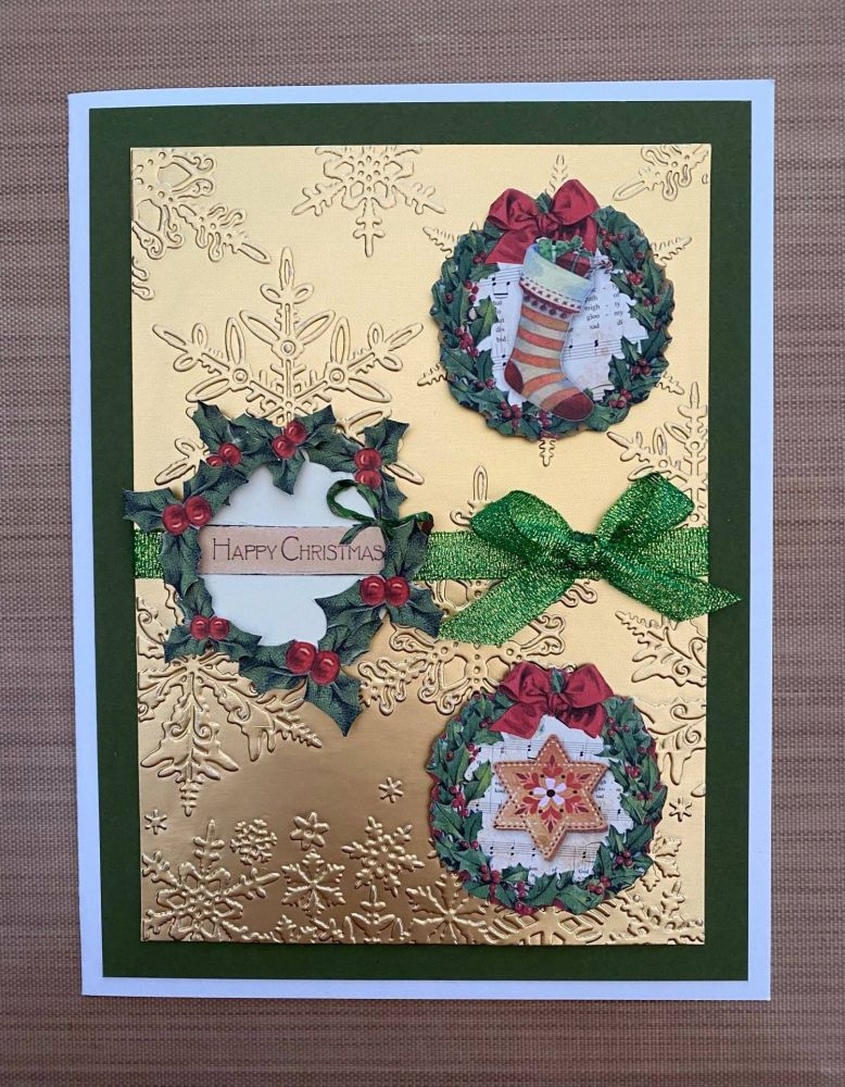Stamperia - be Creative Craft Christmas Sample - Wreath