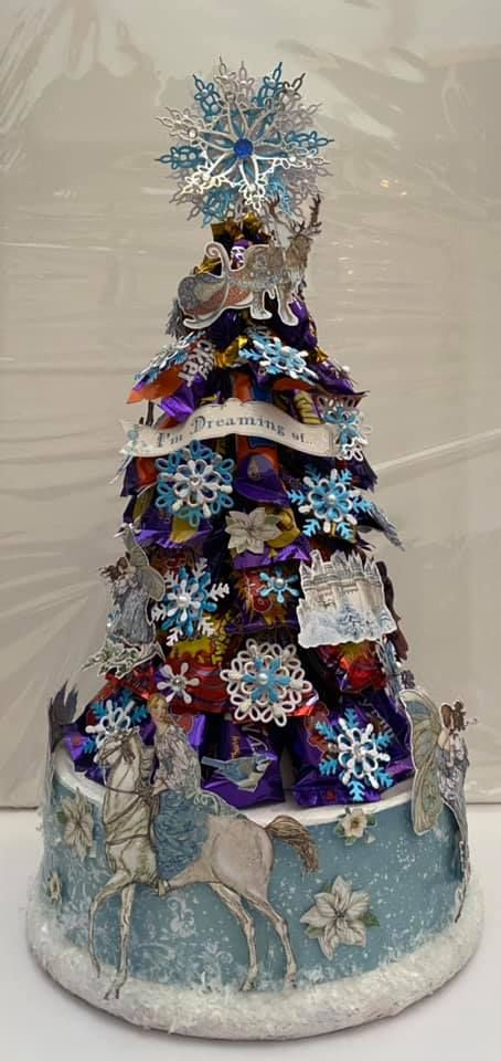 Stamperia - be Creative Craft Christmas Sweety tree
