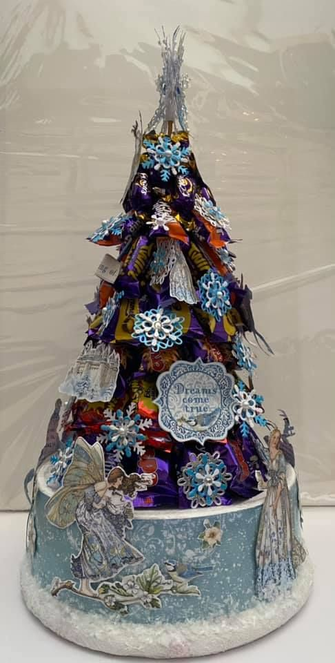 Stamperia - be Creative Craft Christmas Sweety tree 2