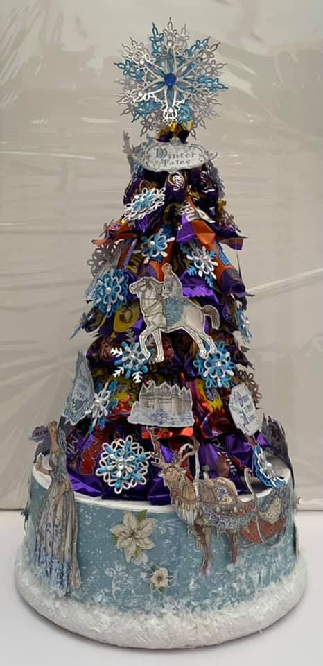 Stamperia - be Creative Craft Christmas Sweety tree 3