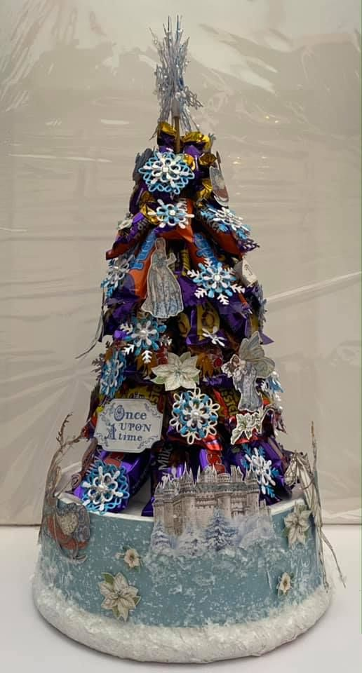 Stamperia - be Creative Craft Christmas Sweety tree 4