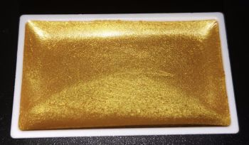 (AU) New Twilight High Pigment Pearlescent Watercolour Paints : GLORIOUS GOLD
