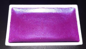 (AW) New Twilight High Pigment Pearlescent Watercolour Paints : PURPLE PETAL