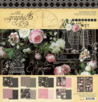 Graphic 45 Elegance 12x12 Collection Pack - (Pre Order)