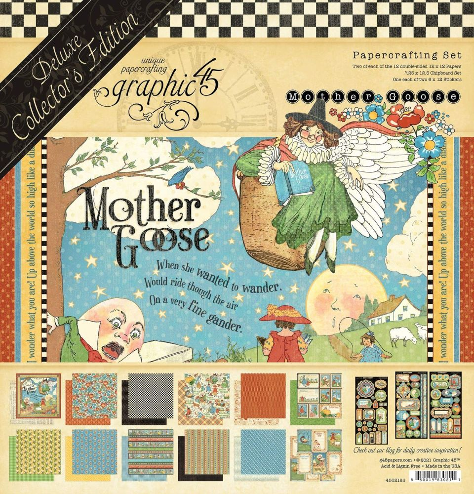 Graphic 45 Mother Goose Deluxe Collectors Edition  (Pre Order)
