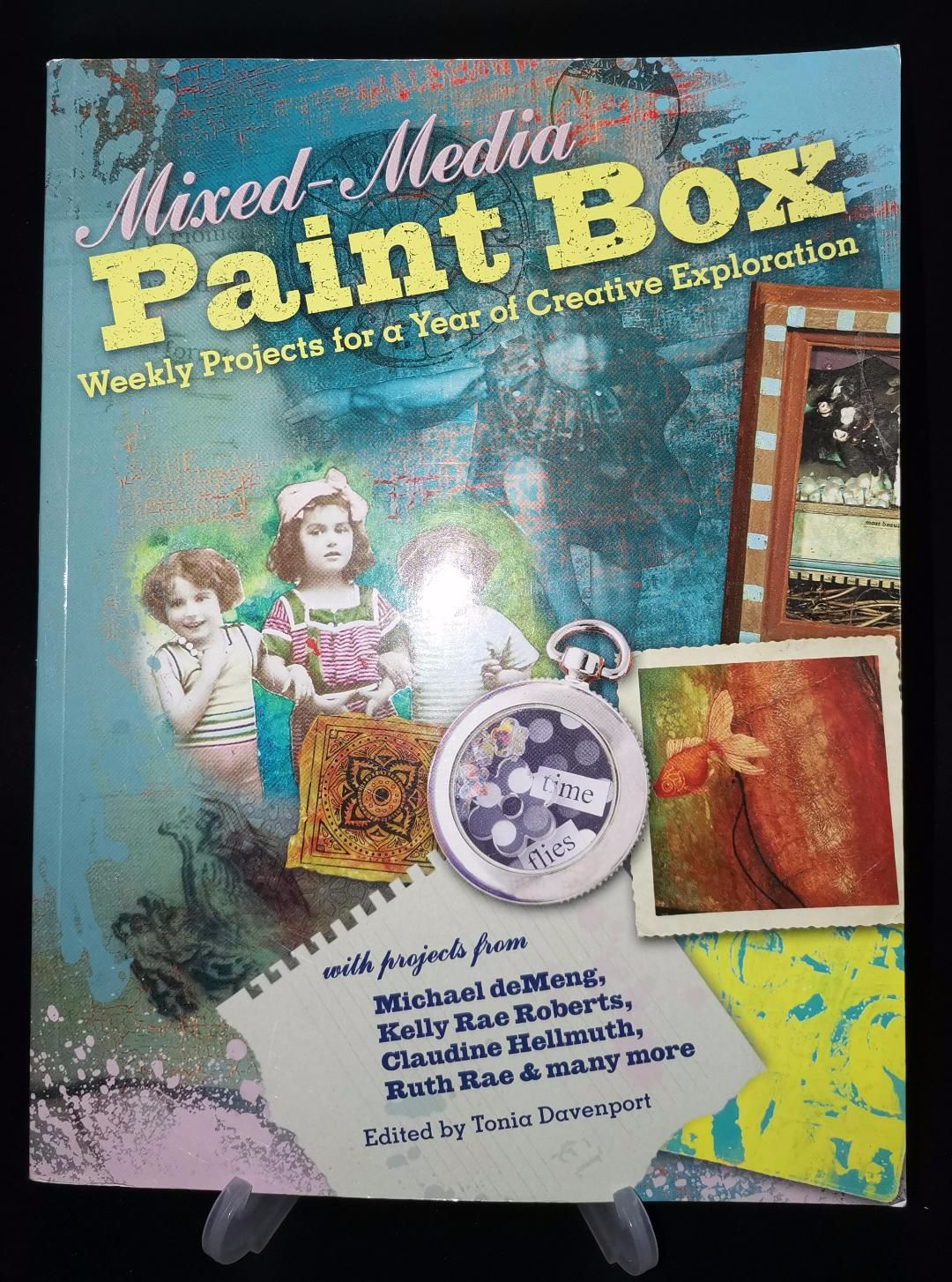 Soft cover book : Mixed Media paint box : 144 pages